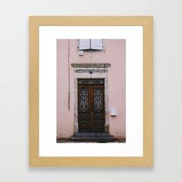 Doors of Yssingeaux Framed Art Print