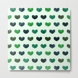 Cute Hearts VI Metal Print