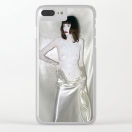 """say no to patriarchy / """"the prostitute"""" Clear iPhone Case"""