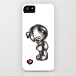Heartbroken Teddy Bear iPhone Case