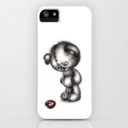 Heartbroken Teddy Bear iPhone Case