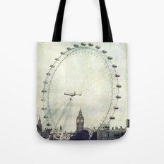 Big Ben and London Eye Tote Bag