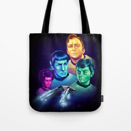 The Final Frontier Tote Bag
