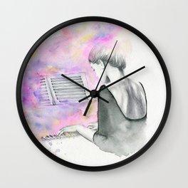 The Unwritten Song Wall Clock