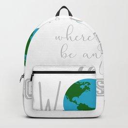 Teacher Choose Kind Shirt - Anti-Bullying Message Backpack