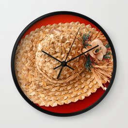 Hat Wall Clock