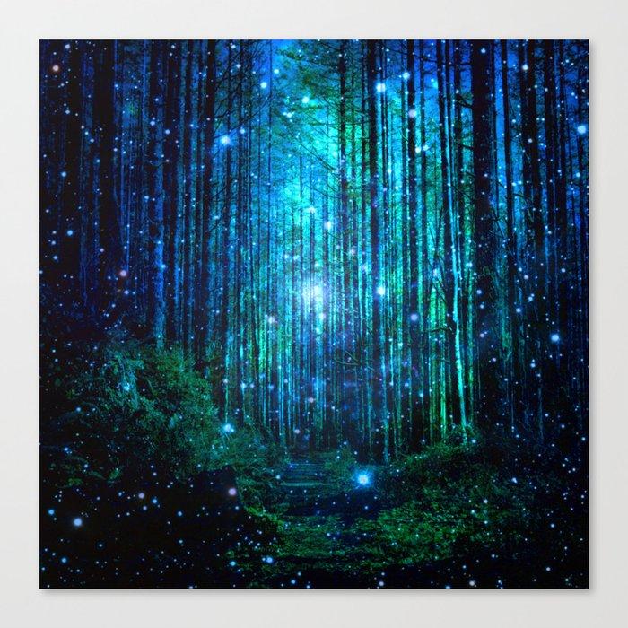 magical path Leinwanddruck