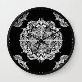Mandala Lace (Tile) Wall Clock
