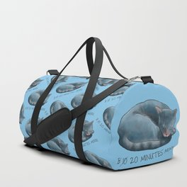 Sleepy Cat - 20 minutes more - Lazy Animals Duffle Bag