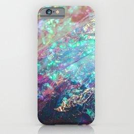 Prismatic Iridescent Cellophane VII iPhone Case