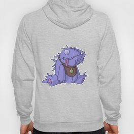 Cute Plush Dino Hoody