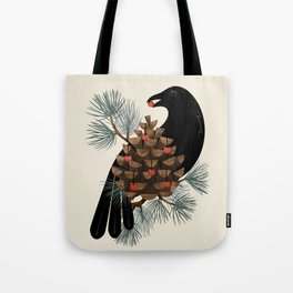 Bird & Berries Tote Bag