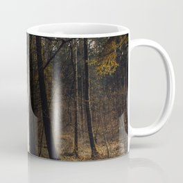 Portrait in the forest Coffee Mug