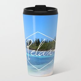 Relax Metal Travel Mug