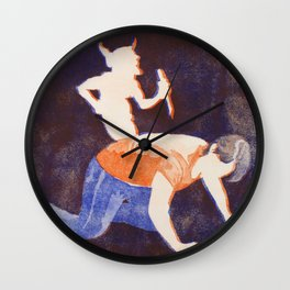 Fibromyalgia: Pain Wall Clock