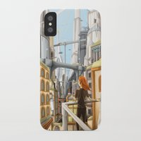arya stark iPhone & iPod Cases featuring Stark by Rafapasta