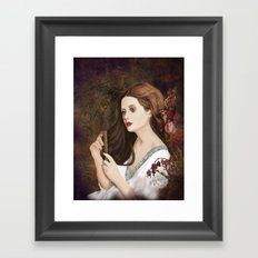 Until dark, my love (Vampire Ball) Framed Art Print