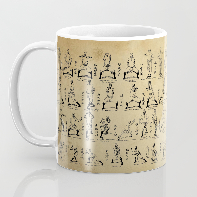 Kung Fu Diagram(Vintage) Coffee Mug