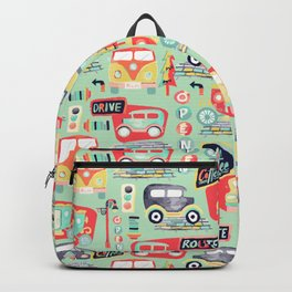 Travel Back in Time Backpack