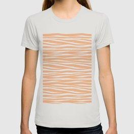 Zebra Print - Toffee Caramel T-shirt