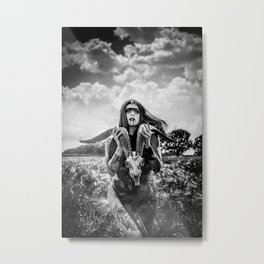 Accipio Omen Metal Print