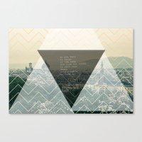 bukowski Canvas Prints featuring bukowski by pixel.pwn | AK