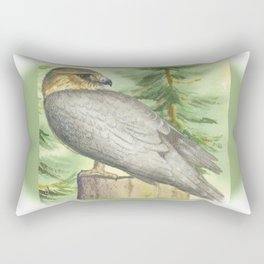 Merlin Falcon (Keir) Rectangular Pillow