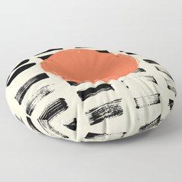 Mid Century Modern Art Print, SUN Art, Extra Large Wall Art, Mid Century Print, CIRCLE Print, Modern Floor Pillow