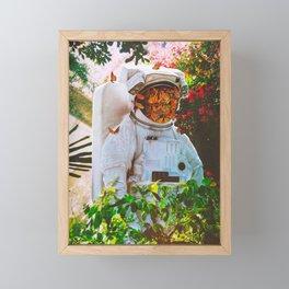 At The Garden Framed Mini Art Print