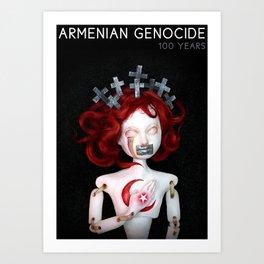 Armenian Genocide Centennial Art Print