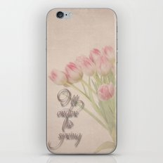 I'll order the spring iPhone & iPod Skin