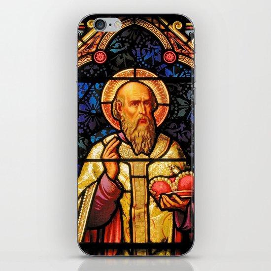 Saintly Glass #2 iPhone & iPod Skin