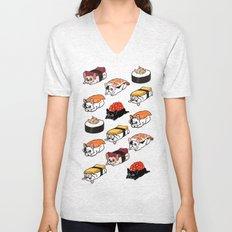 Sushi Frenchie Unisex V-Neck