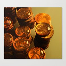 A Penny For Your Thoughts. Canvas Print