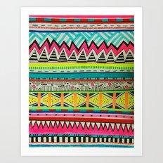 VIVID EYOTA Art Print