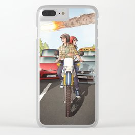 Fitzsimmons - Disaster Movie Clear iPhone Case