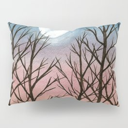 """Trees at Dusk"" Pillow Sham"
