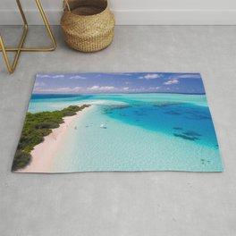 Maldives Tropics Tropical Aerial Rug
