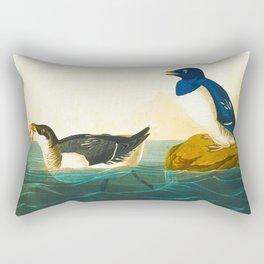 John Audubon Little Auk Rectangular Pillow