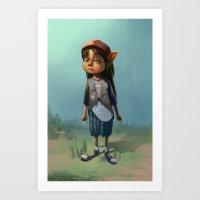 Jaime Art Print