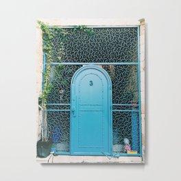 Israel Door Metal Print