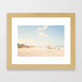 The Beach... Framed Art Print