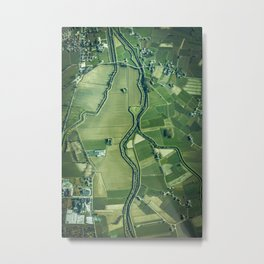 The Aerial View (Color) Metal Print