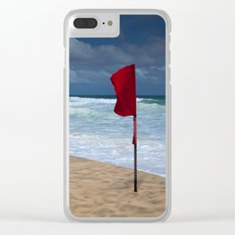 No Swimming Clear iPhone Case