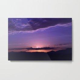 Southwest Sunrise - IV Metal Print