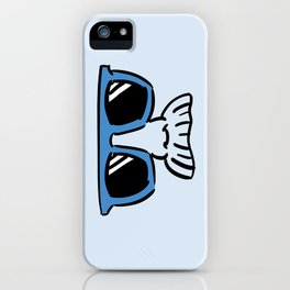 Too Cool (blue cyan) iPhone Case