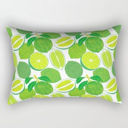 Lime Harvest Rectangular Pillow