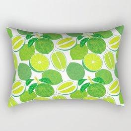 Lime Harvest Rectangular Pillow