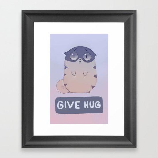 Boggart Hug Framed Art Print