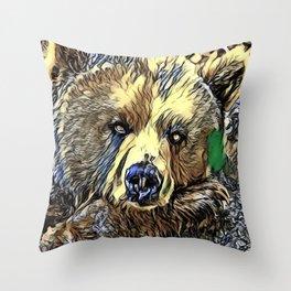 Animal ArtStudio 719 Bear Throw Pillow